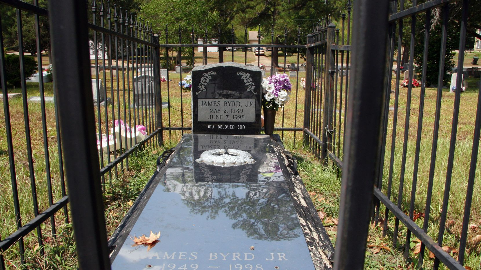 Today marks the 20th anniversary of one of the nation's most horrifying hate crimes — when James Byrd Jr. was dragged from the back of a truck in East Texas by three white men. This photo of Byrd's gravesite was taken in 2011, when one of the men was executed.