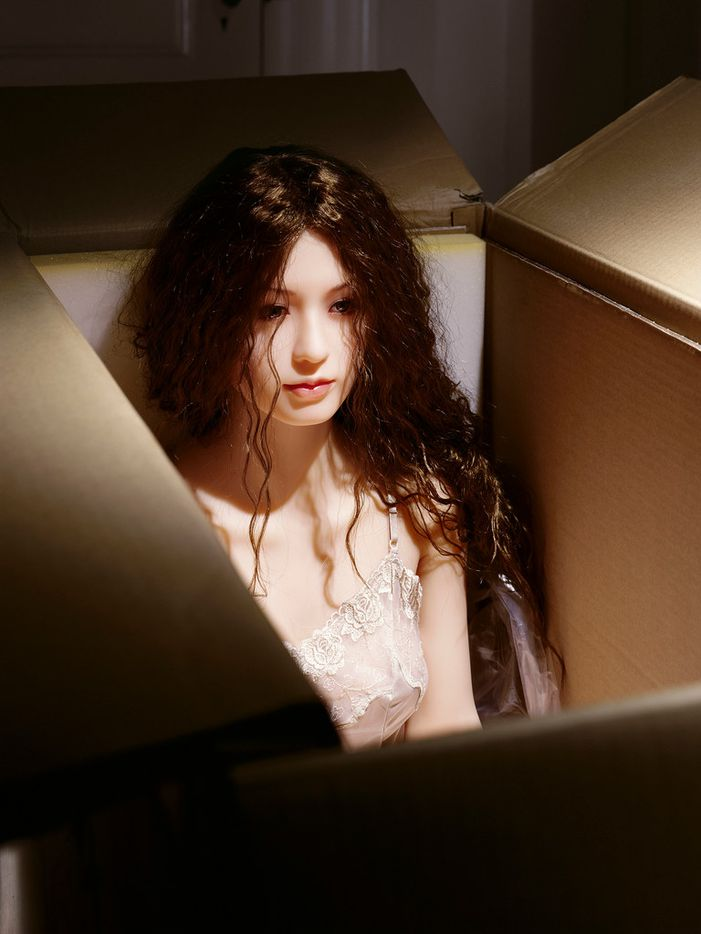 Laurie Simmons 'The Love Doll/Day 27/Day 1 (New in Box),' 2010