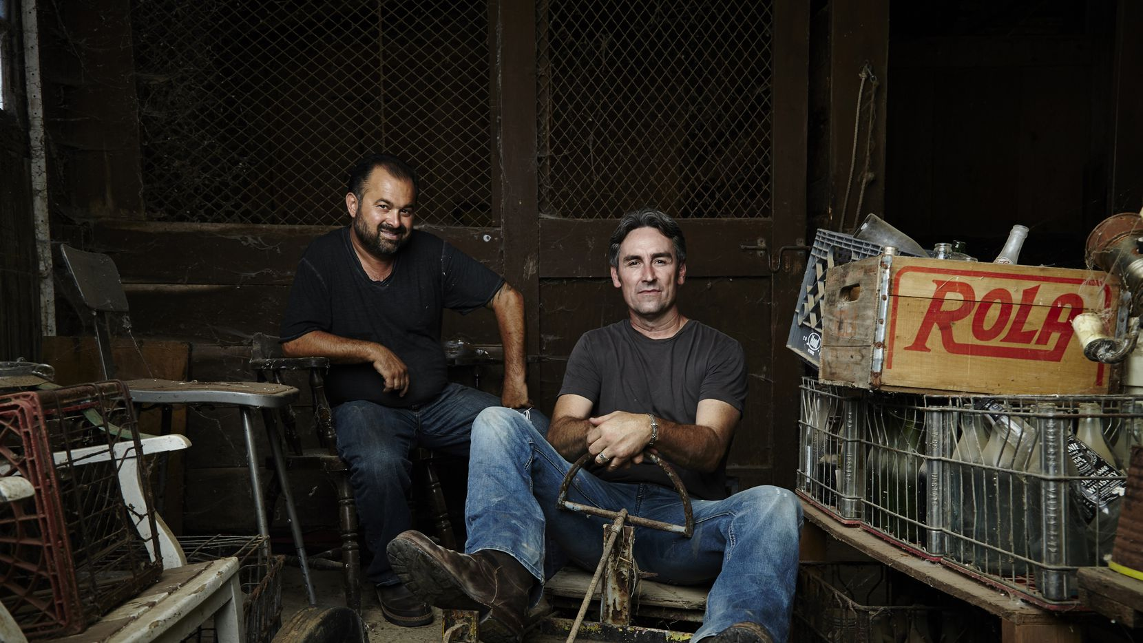 Mike Wolfe and Frank Fritz are the stars of 'American Pickers,' a show that focuses on finding treasure that others thought was trash. They want to film in Texas if they can find the right people to feature.
