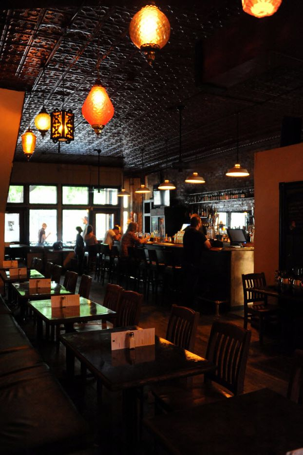 The bar will have Monday jazz nights with drink specials at Eight Bells Alehouse in Expo Park Dallas, TX on August 29, 2015.