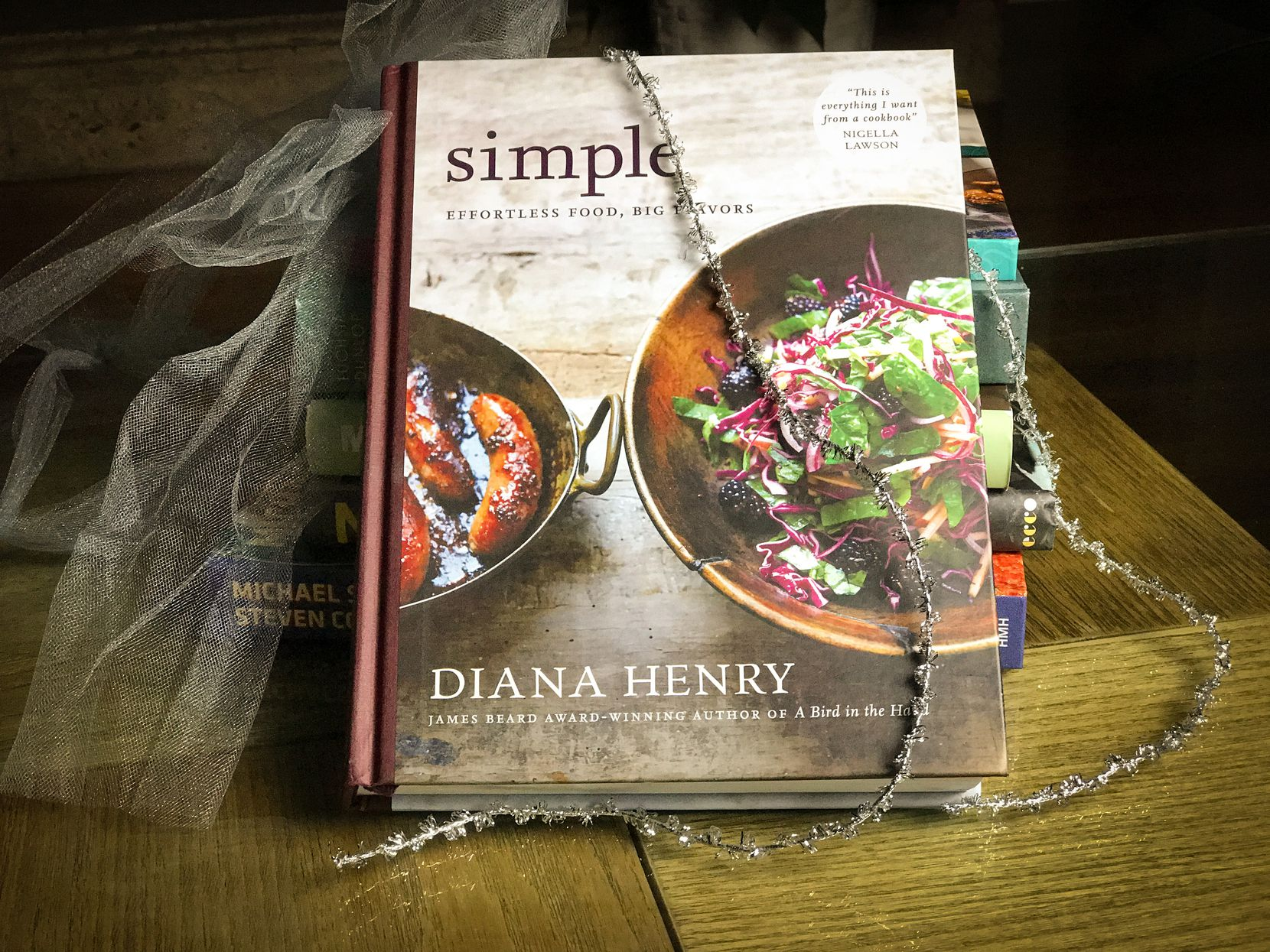 "Award-winning cookbook author Diana Henry's most recent publication is ""Simple: Effortless Food, Big Flavors."""