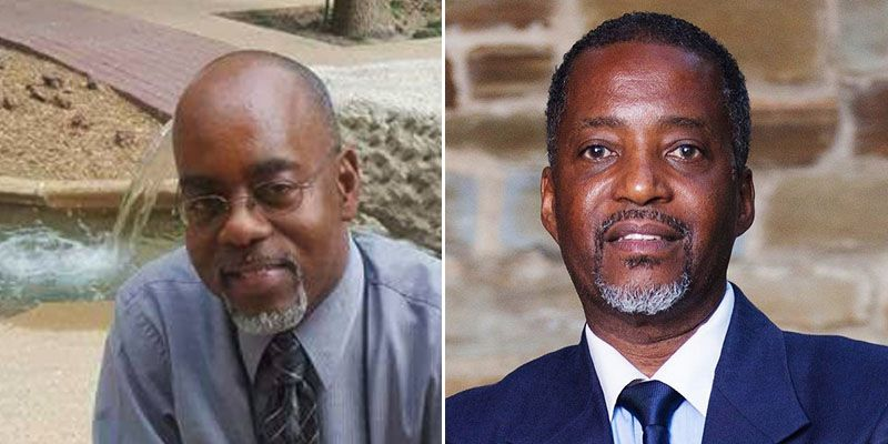 City of Dallas employee Carl Wagner, left, is a longtime friend and business associate of home builder Kenneth Williams, right.