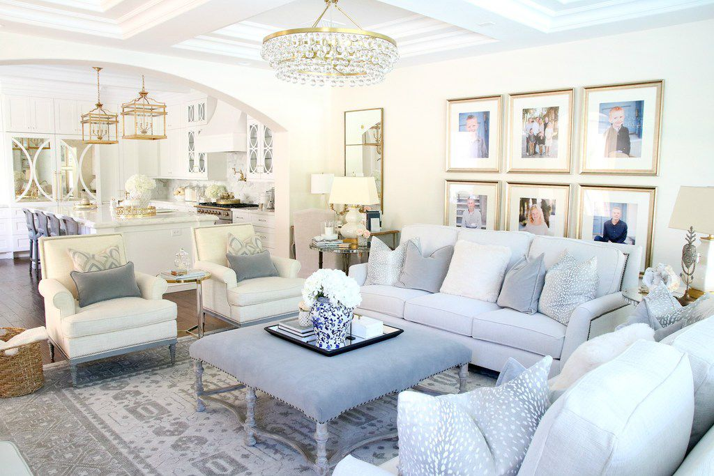 Luxury needs to work with your life, says Emily Sheehan Hewett, who often opts for durable fabrics and furniture covers that can be removed and washed.