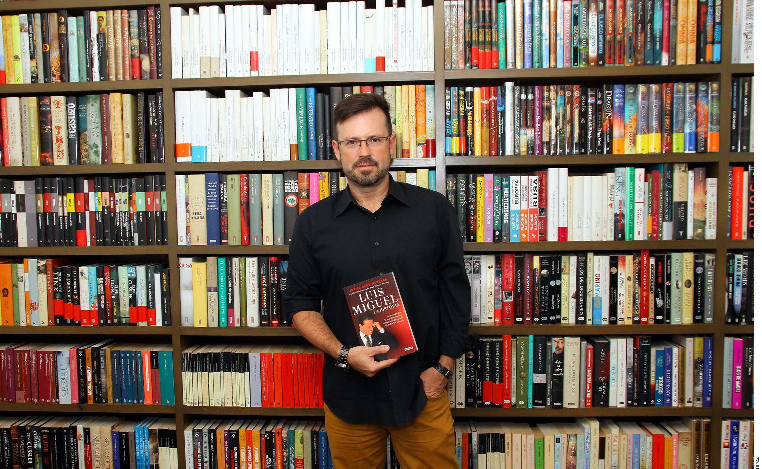 """Javier León, autor de """"Luis mi Rey"""" y """"Luis Miguel la Historia"""", dice que está orgulloso de que su trabajo sea valorado por el ídolo./ AGENCIA REFORMA"""