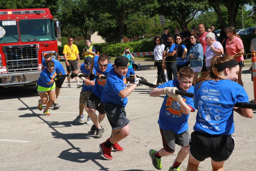 Twenty-one teams have signed up for the 6th annual Duncanville Fire Truck Pull Saturday at Armstrong Park.  - photo courtesy of Special Olympics Texas