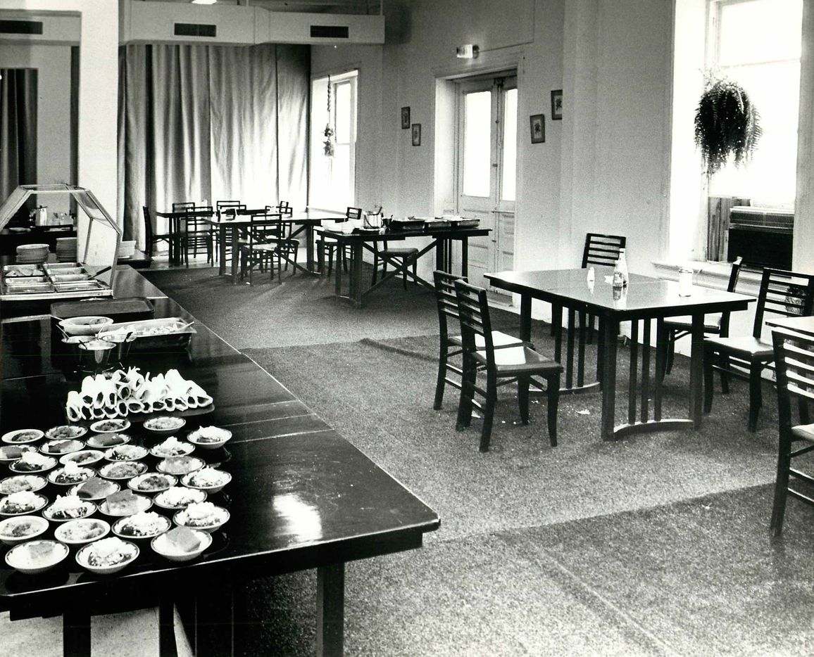 Sept. 23, 1979: The dining room of the Ambassador Hotel