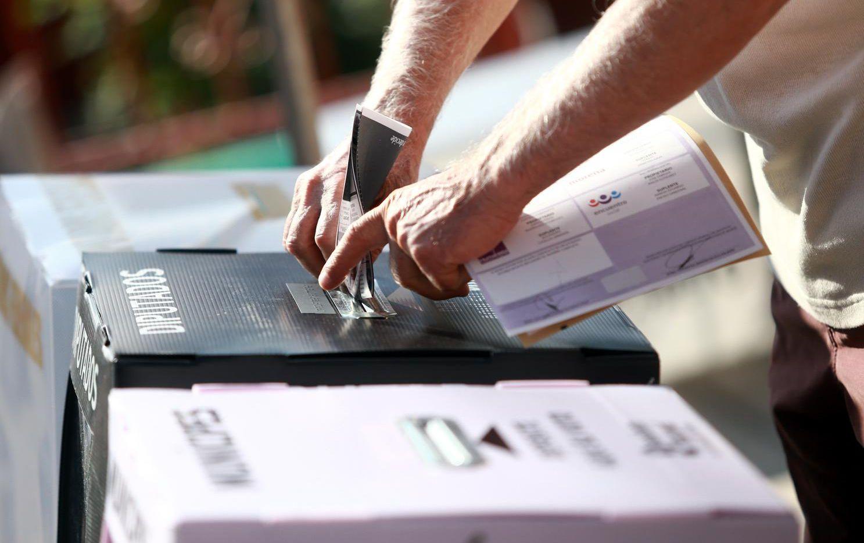 Una casilla electoral del Instituto Nacional Electroal del México.(AGENCIA REFORMA)