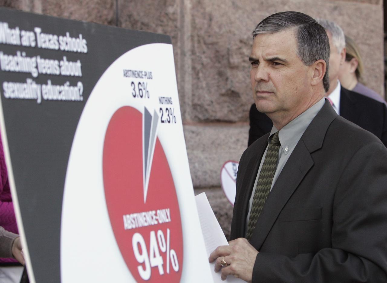 David Wiley, de Texas State University lideró un estudio sobre la educación sexual en las escuelas. Esta foto es de un estudio anterior en el 2009. (AP/ARCHIVO)