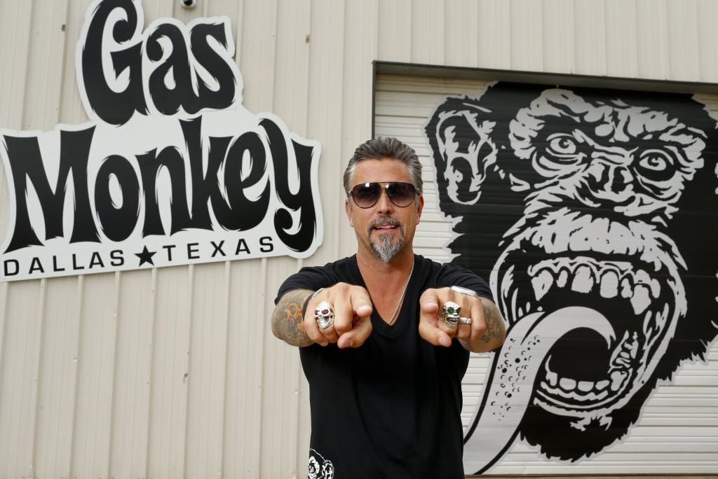 Richard Rawlings is the star of cable TV show Fast 'n Loud and the founder of the growing and greasy Gas Monkey Garage.