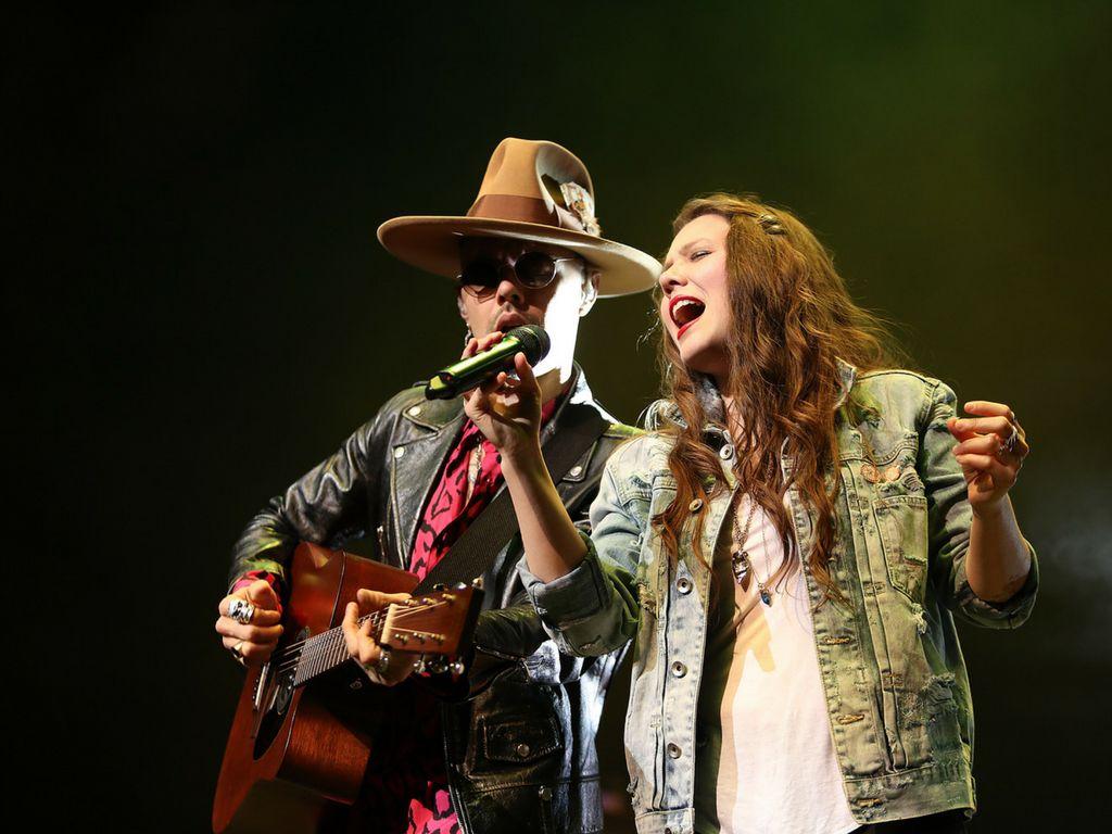 El dueto mexicano Jesse & Joy inició su tour en Estados Unidos en el Verizon Theatre en Grand Prairie. Foto Especial para Al Día Omar Vega.
