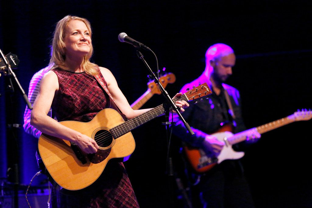 Kelly Willis performed during Holiday Shindig, a recurring Christmas concert, at The Kessler Theater in Dallas, Friday, December 14, 2018.