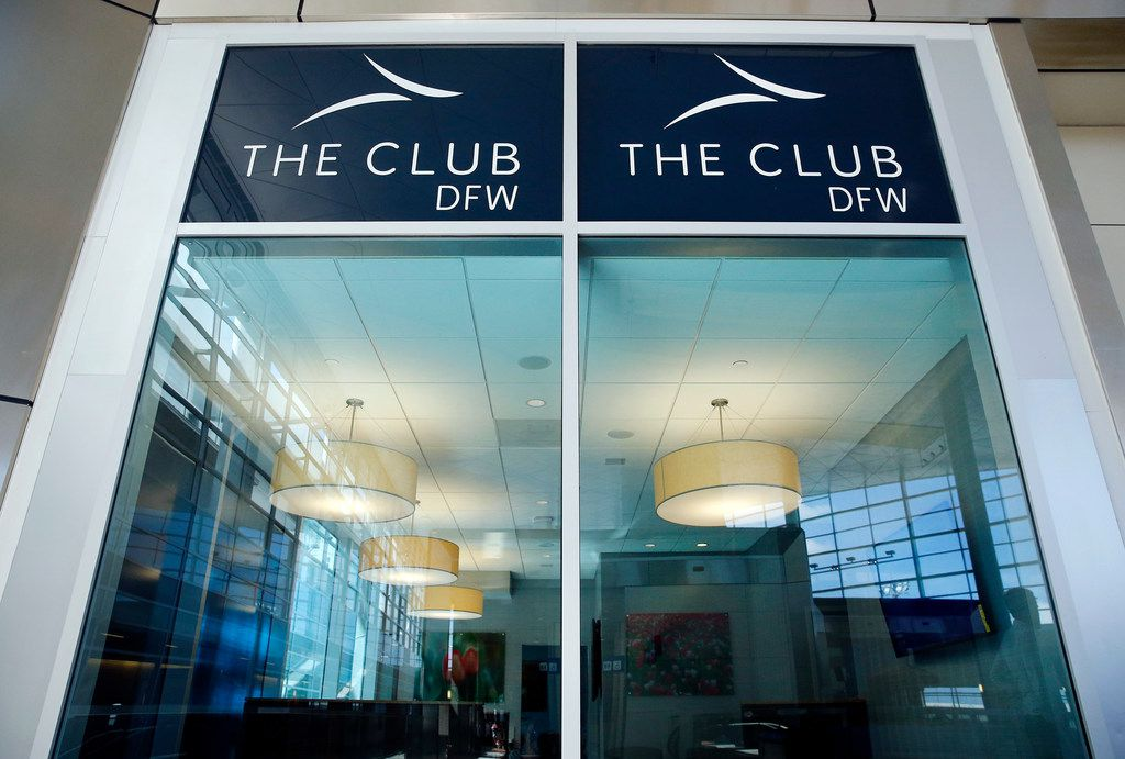 PlanoÕs Airport Lounge Development created The Club DFW in Terminal D of Dallas-Fort Worth International Airport as seen here, Tuesday, September 25, 2018. The club, similar to those by the major airlines, can be used by anyone for a daily fee. (Tom Fox/The Dallas Morning News)