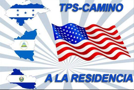 Logo tipo de una campaña nacional que busca la residencia permanente para beneficiarios del TPS. (CORTESÍA)