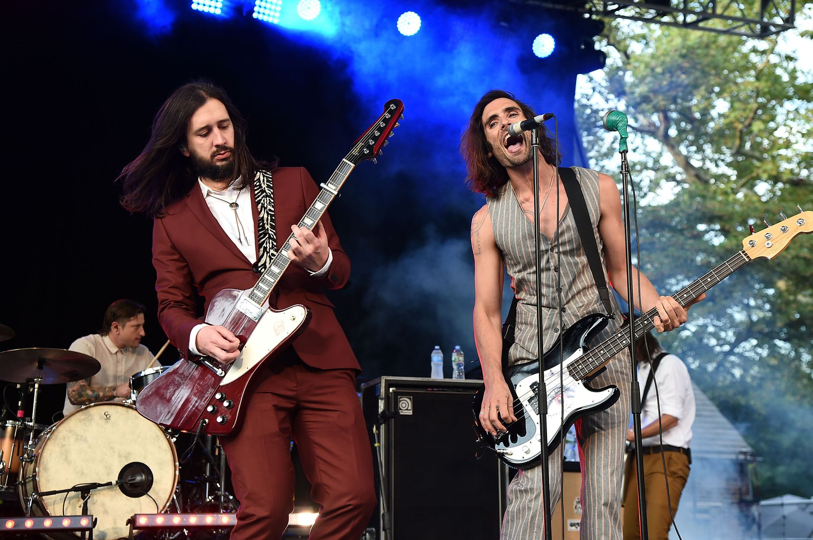 Nick Wheeler and Tyson Ritter of All-American Rejects perform in New York CIty's Central Park in 2017. The band will perform on Saturday, June 1, 2019 at Taste Addison.