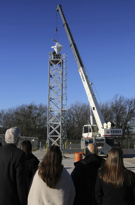 A state-of-the-art weather radar was installed Tuesday in Midlothian for early warning of stoms and tornadoes. The CASA unit was donated, said Mayor Pro Tem Joe Frizzell.