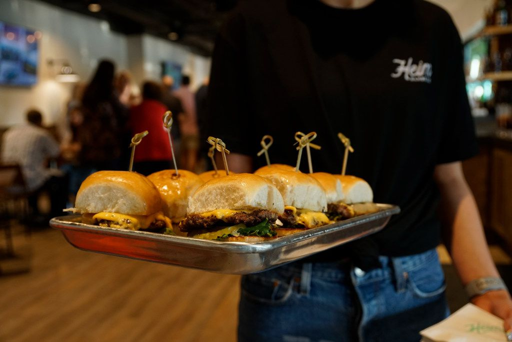 The Heimburger is a popular new item at Heim Barbecue in Fort Worth.
