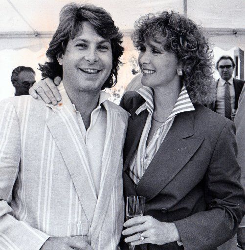 Paul Neinast and actress Susan Howard in 1984