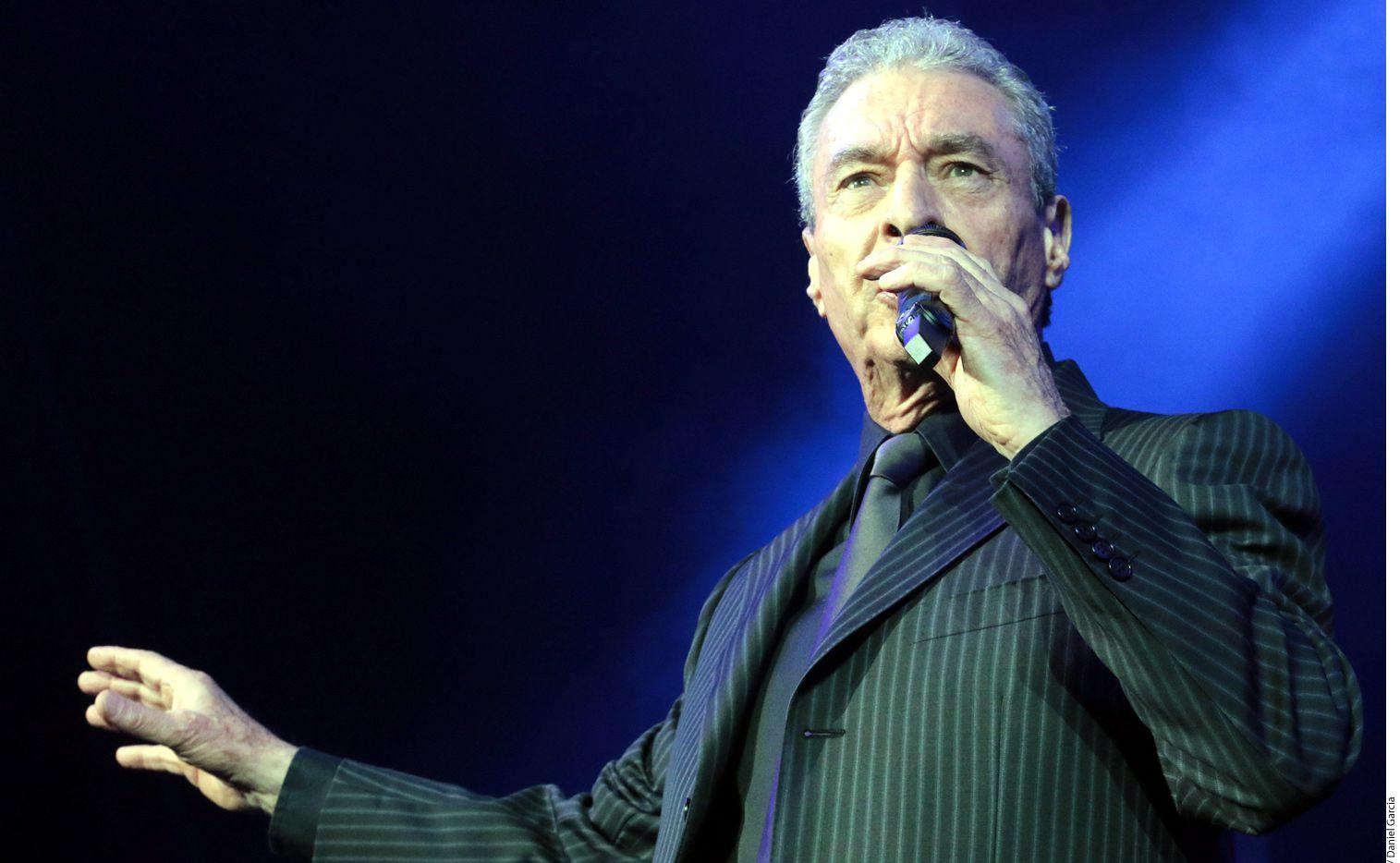 El cantante de 77 años,César Costa, quien forma parte del espectáculo Juntos por Última Vez, afirmó que el público extraña al México de antes. (AGENCIA REFORMA)
