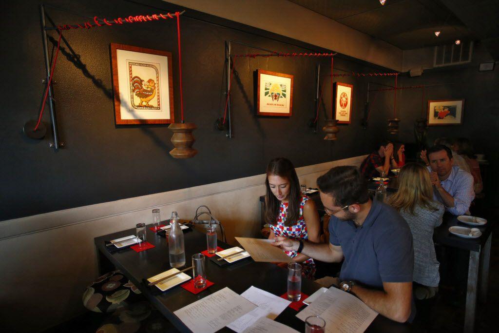 The dining room at Mot Hai Ba