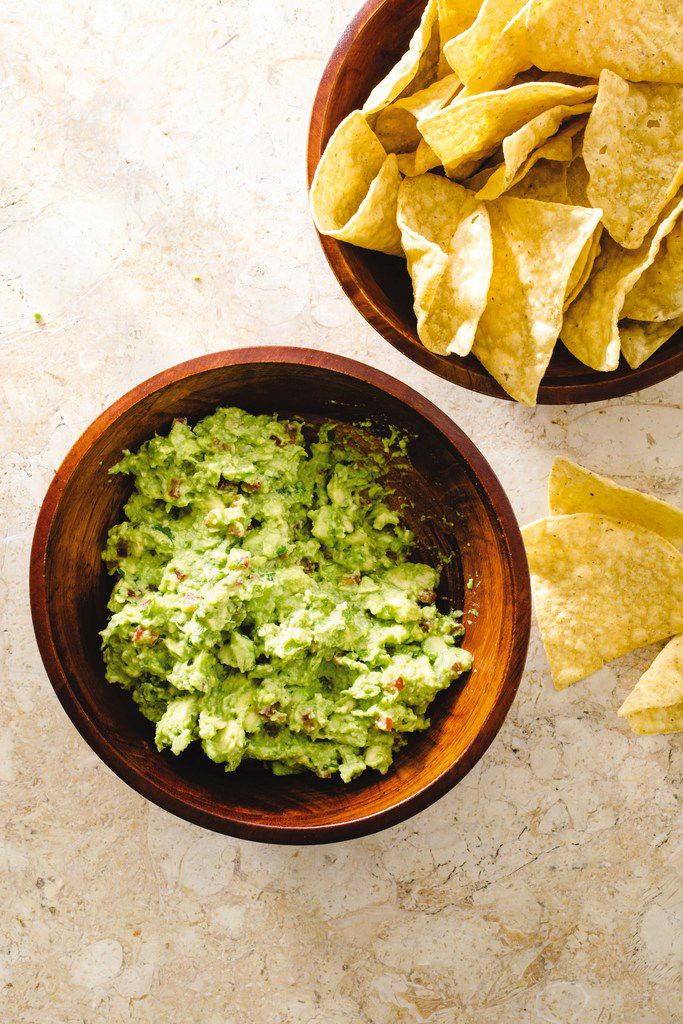Guacamole from from 'The Complete Cookbook for Young Chefs' by America's Test Kitchen.