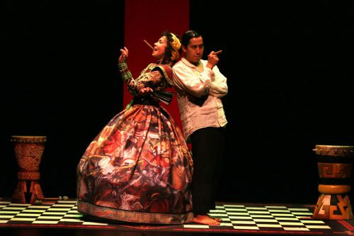 Varias obras de teatro con temáticas históricas de México y América Latina se han presentado a lo largo de 32 años en Teatro Dallas. Foto archivo DMN