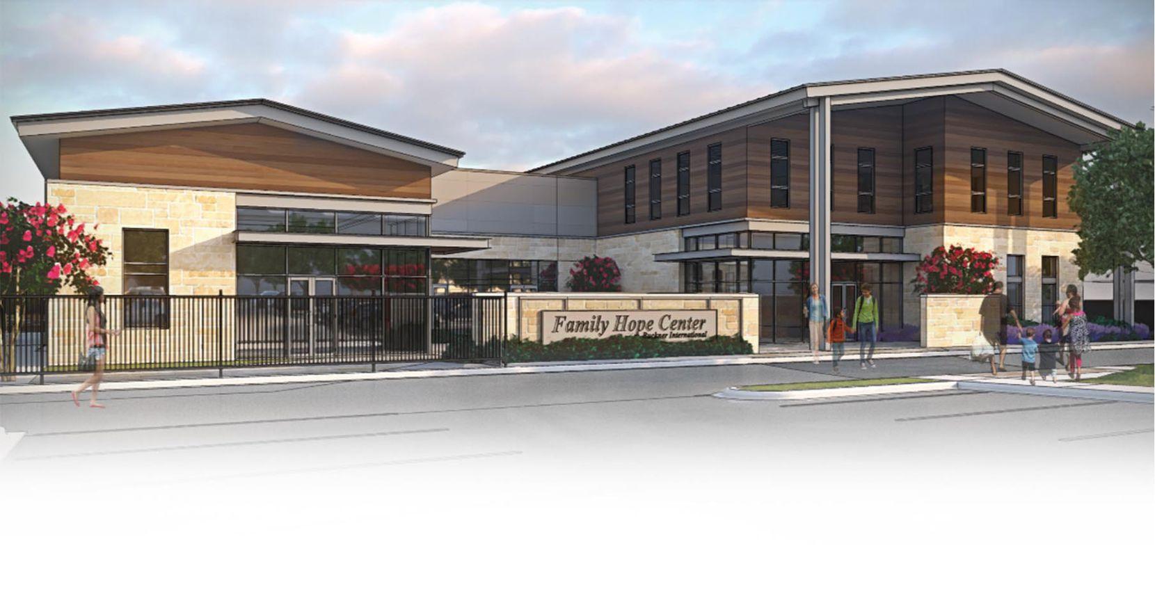 El futuro Family Hope Center en Bachman Lake. CORTESÍA