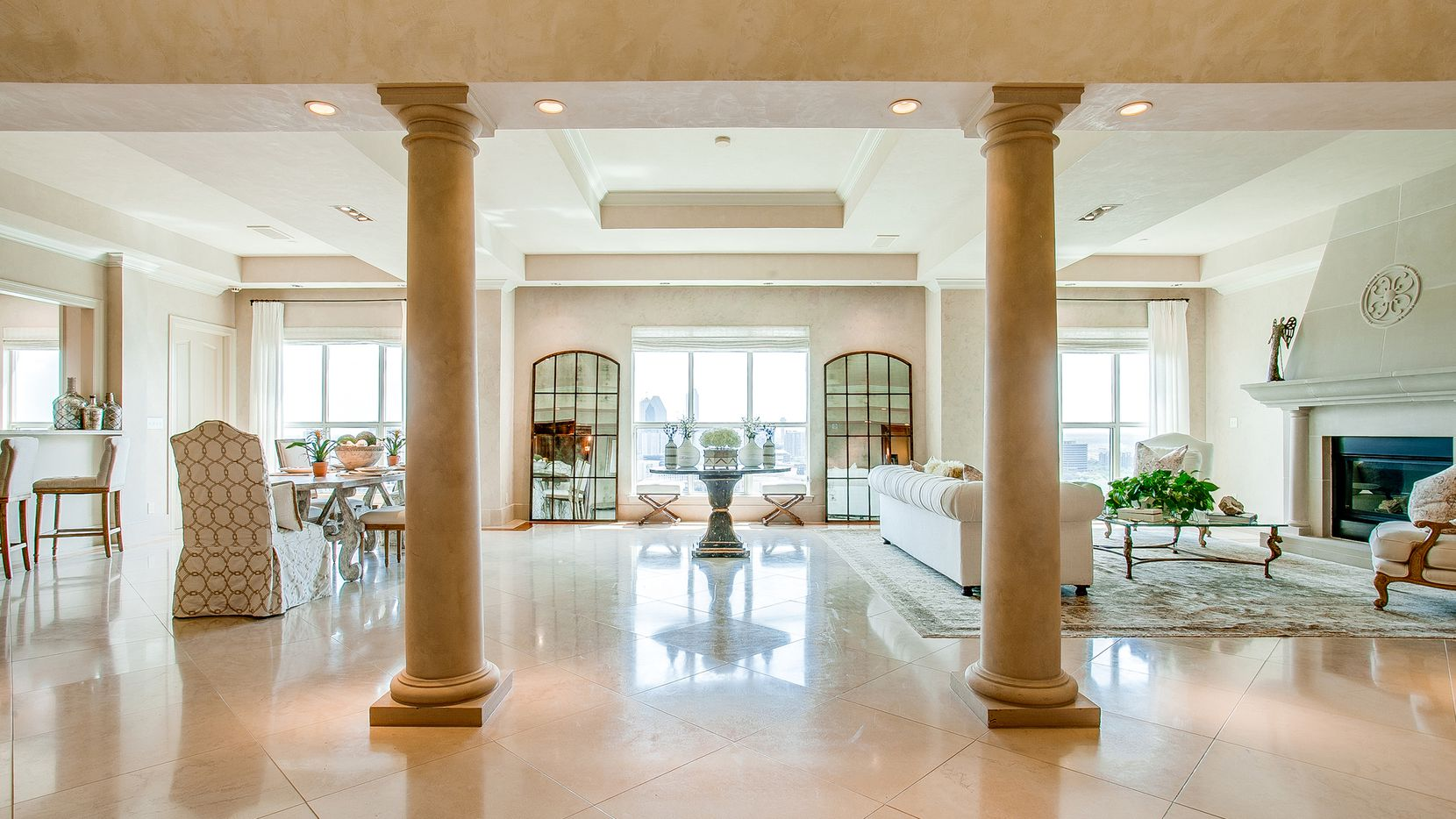 This penthouse in The Mayfair at Turtle Creek and seven others in the Oak Lawn/Uptown/Knox-Henderson area will be held open from 2 to 4 p.m. on Oct. 10.