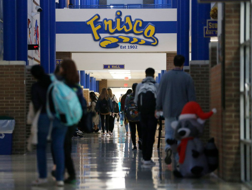 A federal lawsuit alleges that the Frisco school district's election system for board trustees discriminates against people of color.