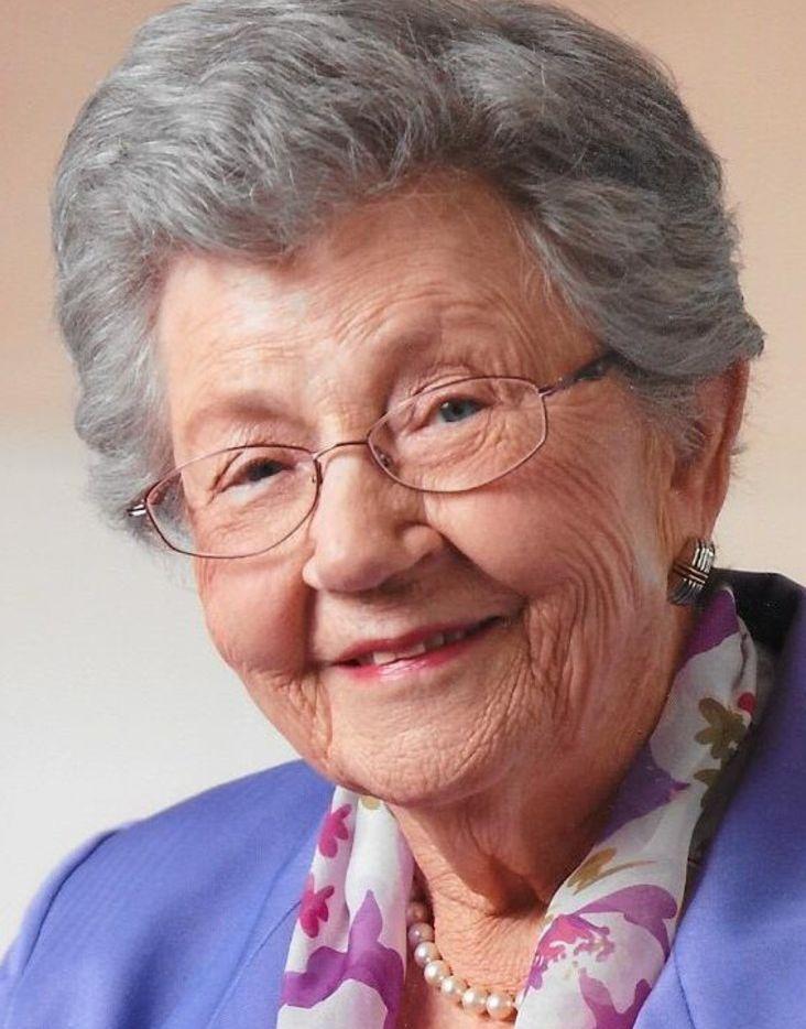 Clara G. Hoffman, retired Dallas nurse, founder of Good Shepherd Episcopal School
