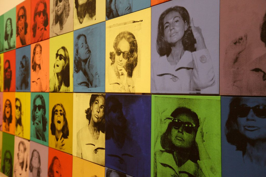 Before there was Instagram, there was Andy Warhol's Ethel Scull 36 Times. It's among more than 300 works spanning the artist's 40-year career on display at the San Francisco Museum of Modern Art.