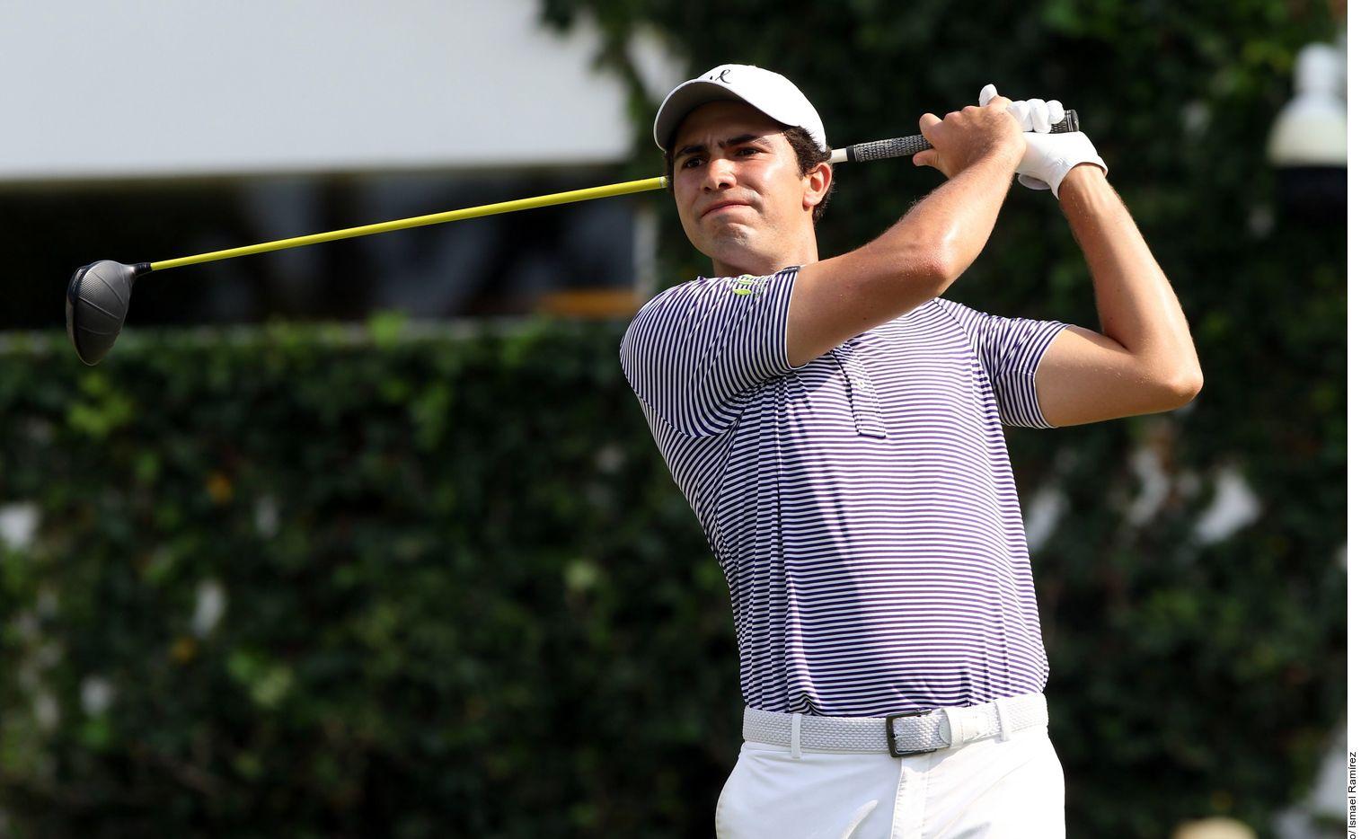 Álvaro Ortiz participará del campeonato de la PGA, Byron Nelson, en mayo en Dallas.  Foto Agencia Reforma