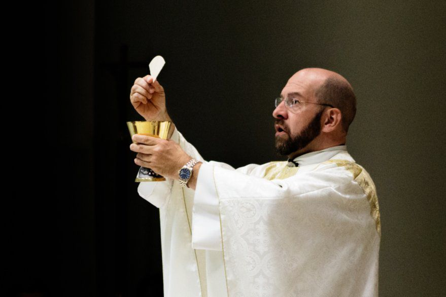 The Rev. Richard Kirkham said this summer he was forced to resign from St. Martin de Porres Catholic Church in Prosper.