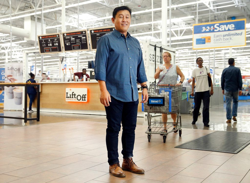LiftOff Coffee and Tea, created by CEO Steve Chang, is a tenant to Walmart. They worked together to decide what kind of coffee shop Walmart customers might want, but ultimately, LiftOff is a separate brand.
