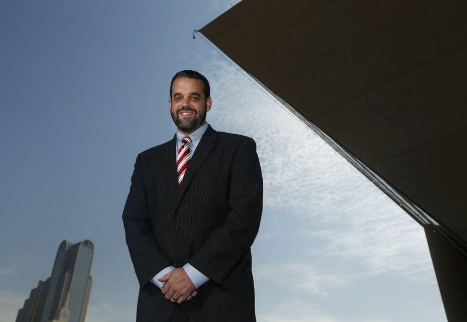 Dallas City Council member Adam McGough