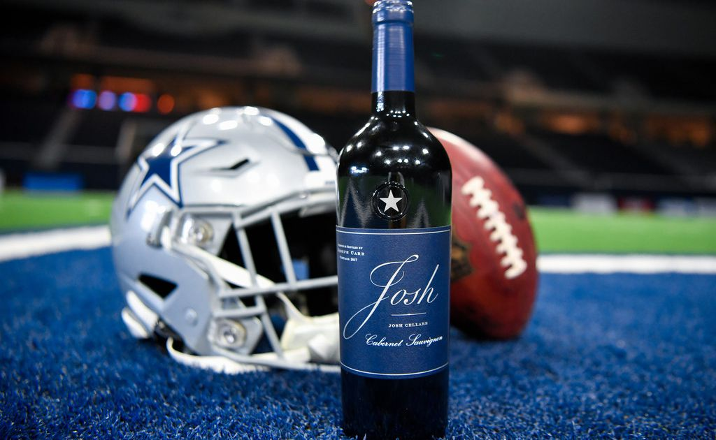 Dallas Cowboys team up with Josh Cellars for a new signature wine