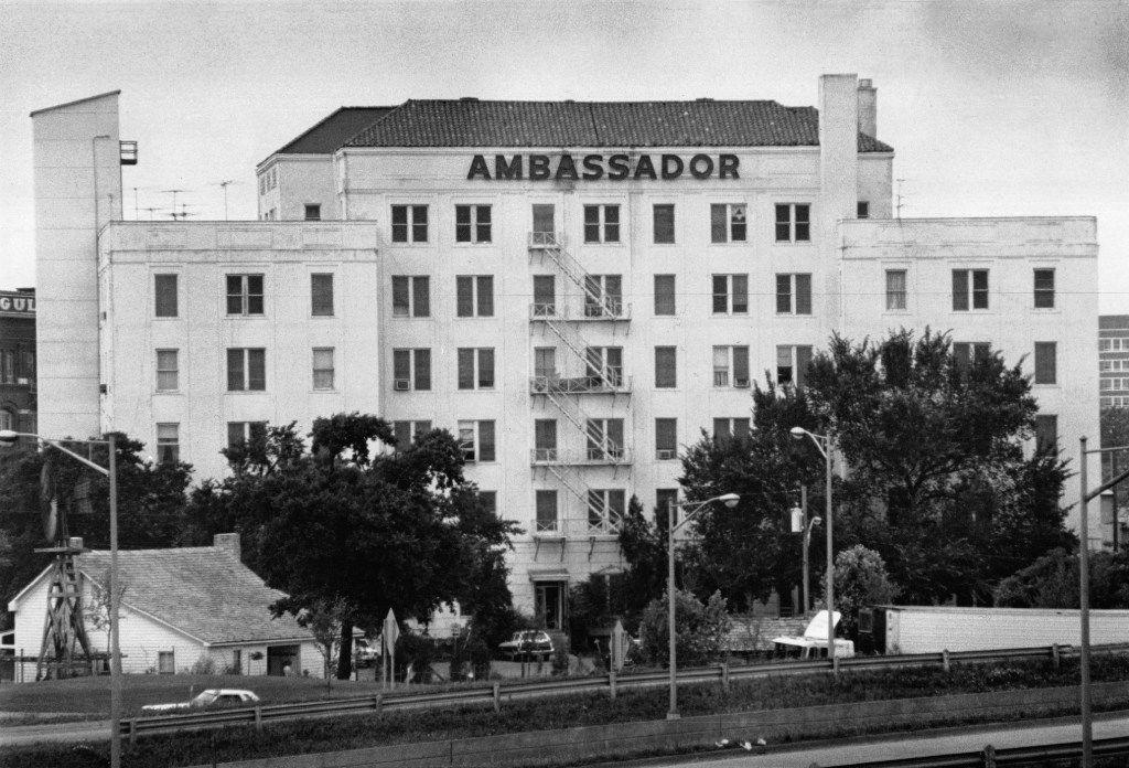 The Ambassador Hotel photographed January 20, 1978.