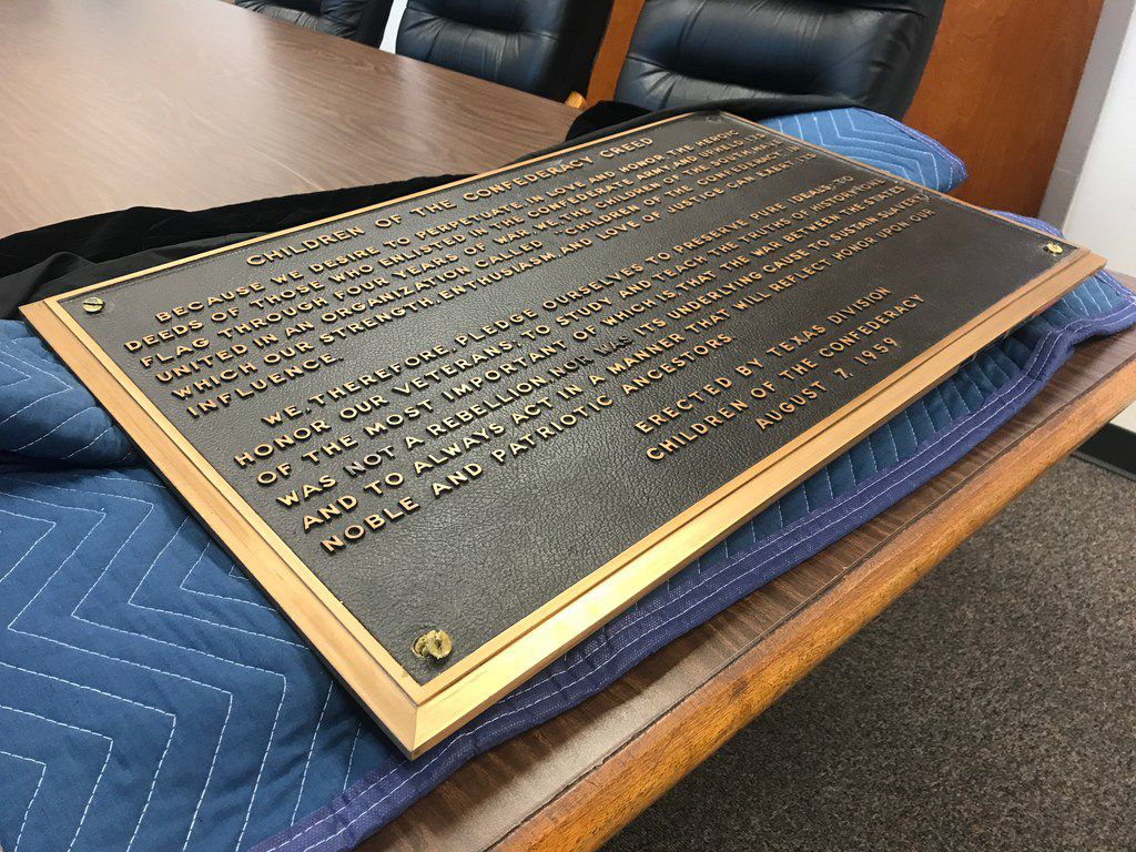 The State Preservation Board is asking for public input on what to do with the Children of the Confederacy plaque that was removed from a wall in the Texas Capitol last month.