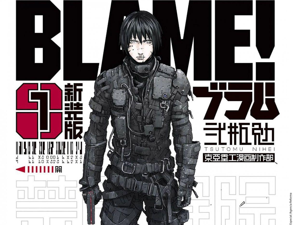 En Blame!, lo que queda de la humanidad vive en una megaestructura, y Killy, es el encargado de rescatar a la civilización del olvido. AGENCIA REFORMA