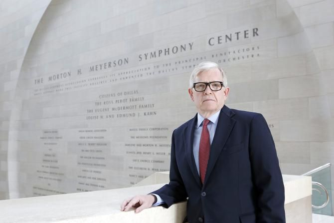 """DSO president and CEO Jonathan Martin says Jaap van Zweden sets high expectations for himself and his musicians. """"He's tenacious when it comes to achieving those goals."""""""