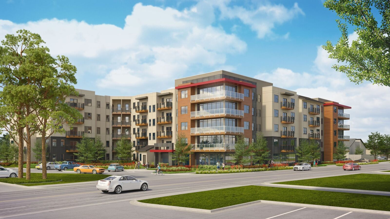 Fountain Residential's new student apartments at UTA will open in 2019. (Fountain Residential)