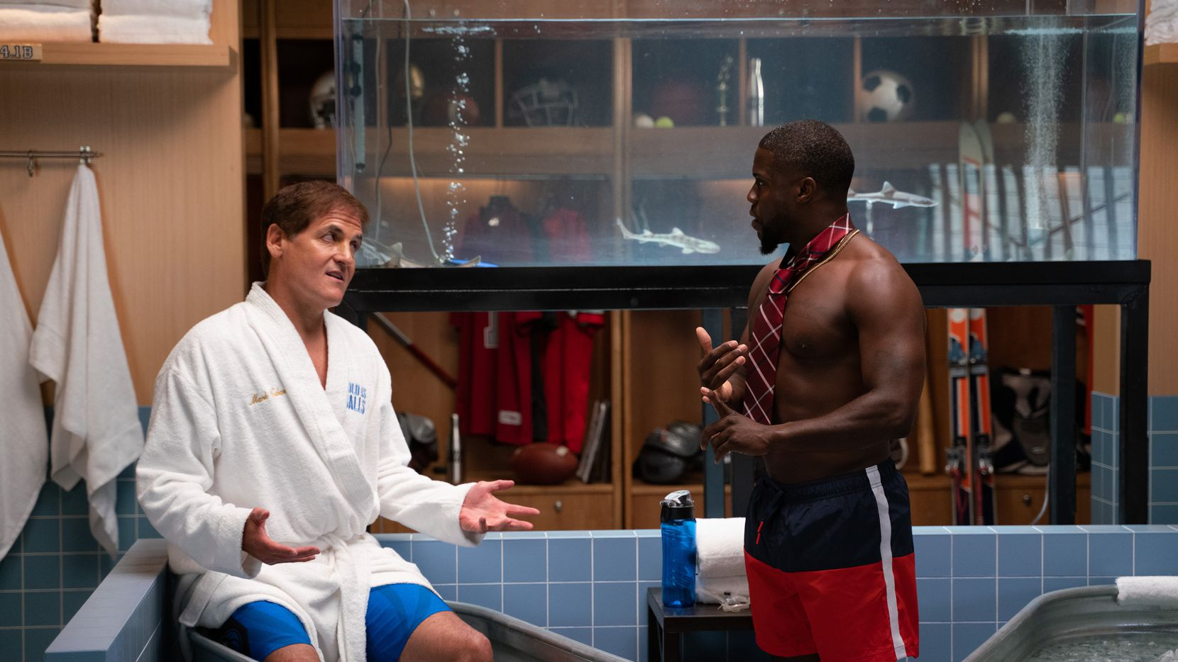 Mark Cuban joins Kevin Hart on his Laugh Out Loud Network show Cold as Balls. Cuban dished on the Mavericks and his relationship with President Donald Trump.