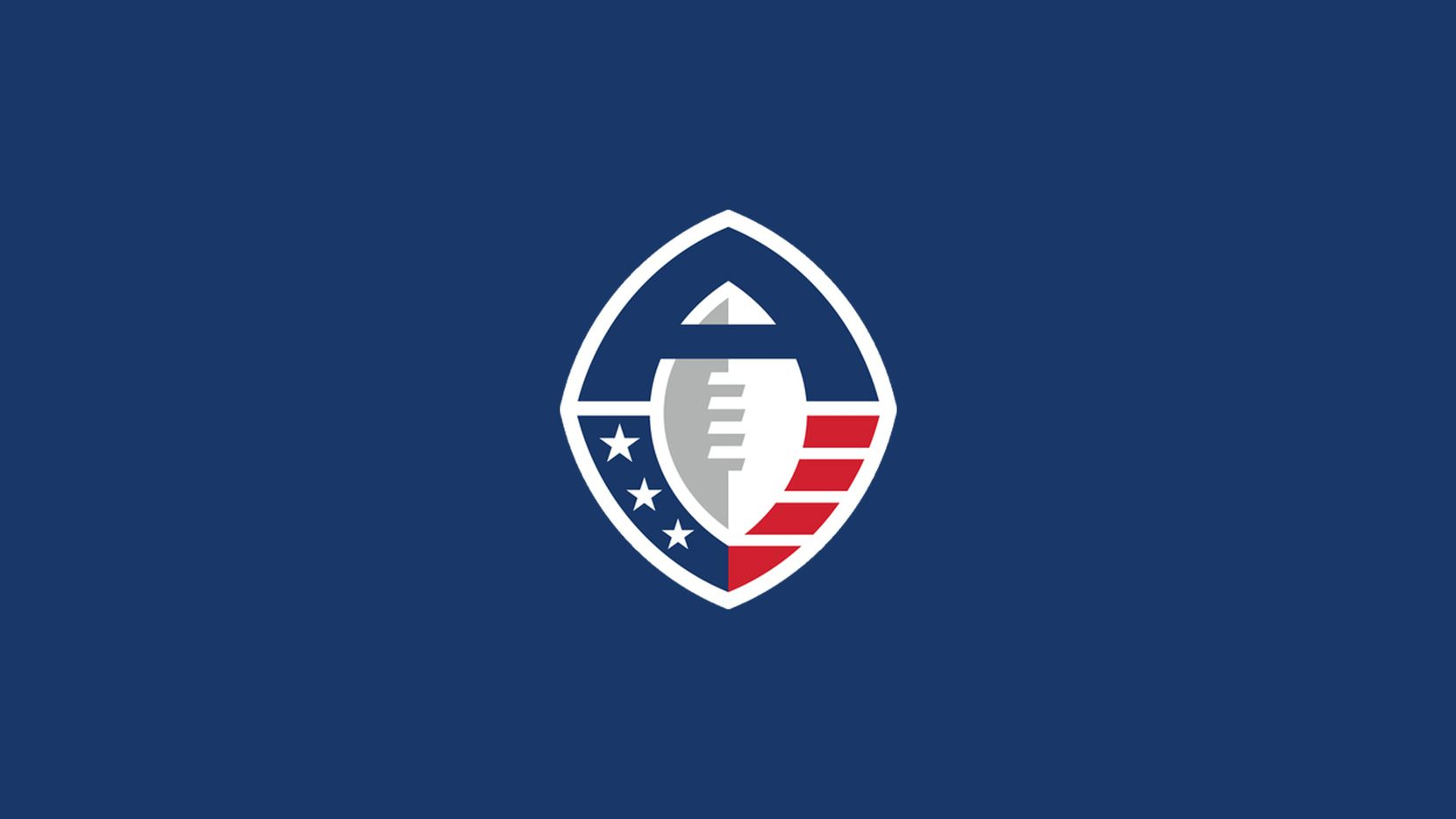 Alliance of American Football logo.