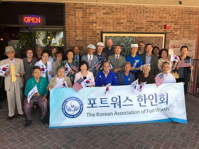 The Korean Association of Fort Worth celebrates Parents Day at Omi Restaurant in Arlington.