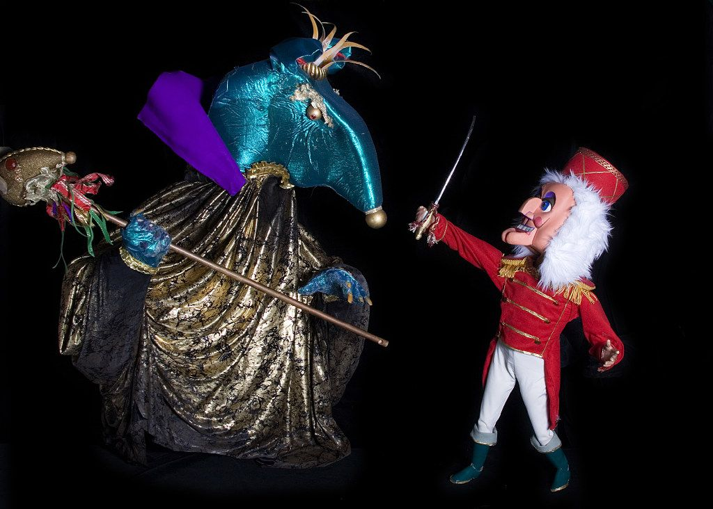 Dallas Children's Theater presents Kathy Burks Theatre of Puppetry Arts puppet production of 'The Nutcracker' Nov. 18-Dec. 21, 2016 at the Rosewood Center for Family Arts, 5938 Skillman St. in Dallas.
