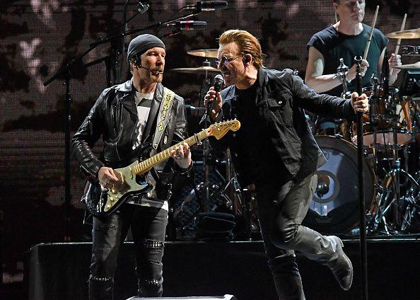 La banda U2 realizará una donación proveniente de sus conciertos en el Foro Sol de la capital mexicana para víctimas de los sismos. Foto GETTY IMAGES