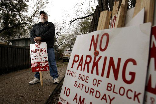 Avi Adelman became well-known for his crusade against noise, crime and parking issues in neighborhoods along Greenville Avenue. (Vernon Bryant/Staff Photographer)