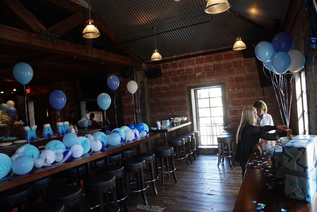 Highland Park Village in Dallas, Texas has converted what was once a restaurant into an event space. Jane Anne Meggs (cq) prepares for her son's birthday party with the help of her mother Jayne Alford (cq) on Saturday, January 28, 2017. (Lawrence Jenkins/Special Contributor)