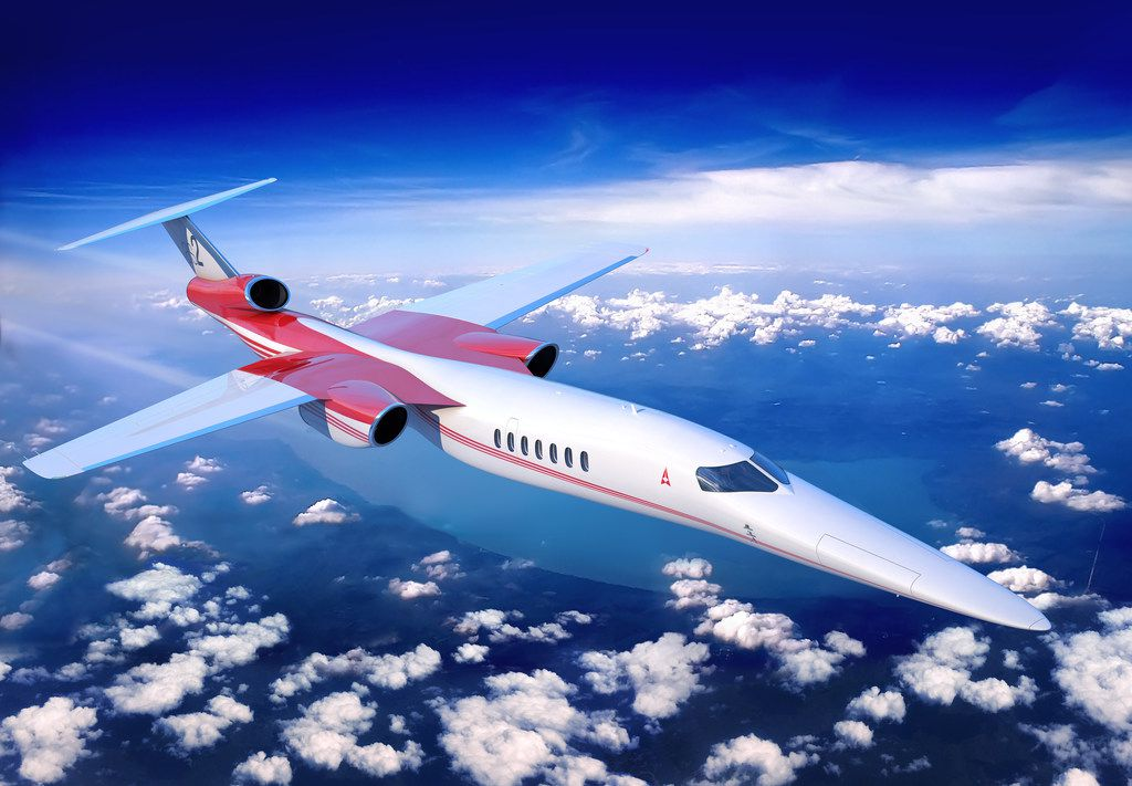 The supersonic jet will cruise 70 percent faster than today's quickest business jets.