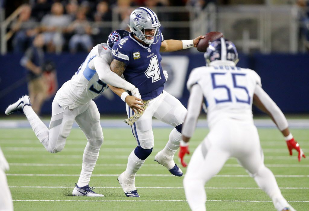 Dak Prescott (4) (Tom Fox/The Dallas Morning News)