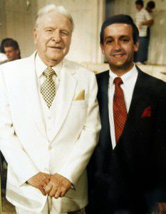 Jeffress (right) grew up attendingFirst Baptist Dallas and learning from famed pastor W.A. Criswell. (Robert Jeffress)